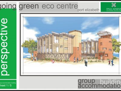 GOING GREEN ECO CENTRE - GROUP ACCOMMODATION BUILDING 1